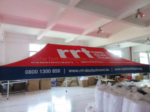 Strong 3m X 6m (10FT X 20FT) Pop up Gazebo with Advertisement Printing