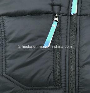 OEM Latest Design Softshell Mens Black Padding Jacket pictures & photos