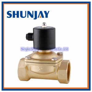 High Quality High Temperature Brass Solenoid Valve Normally Closed pictures & photos