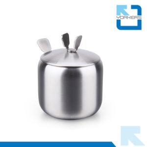 Stainless Steel Spice Jar Salt Sugar Pepper Herbs Storage Pot Condiment Storage Bottle pictures & photos