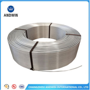 HVAC Aluminum Tube (1050-3030) Extrude Tube/Drawn Tube/Air Condition Part/Aluminum Tube for Refrigerator pictures & photos