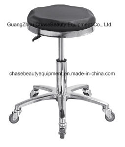 Various Colors PU Seat Stool Chair Salon Chair Stylists′ Chair pictures & photos