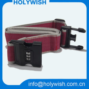 Custom Woven Travel Suitcase Safety Functional Luggage Strap