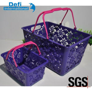 Hollow Plastic Basket for Bath pictures & photos