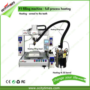 Semi Automatic F1 Liquid Oil Bottle Capsule Filling Machine pictures & photos