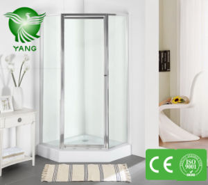 Stainless Steel Shower Door, Shower Enclosure with Tempered Glass, Glass Bathroom Shower Room pictures & photos