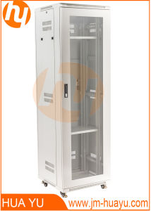 Glass Door Telecommunication Cabinet/Enclosure From Height 14u to 42u