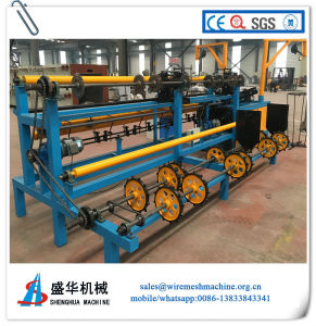 Full Automatic Chain Link Fence Machine with Stainless Steel Wire pictures & photos