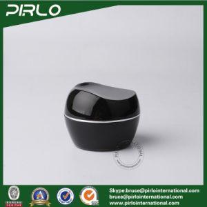 30g 1oz Acrylic Plastic Cream Jar Black Color Hand Cream Facial Cream Container Acrylic Empty Cosmetic Plastic Jar pictures & photos