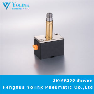 3V4V200 Yellow Manual Device Solenoid Valve Armature pictures & photos