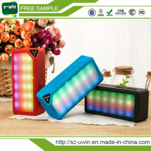 Creative Mini Wireless Bluetooth Speaker with Colorful LED Light pictures & photos