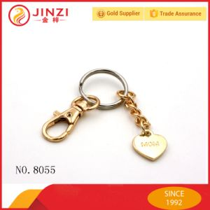 Factory Custom Fashion Metal Key Ring Key Chain Holder pictures & photos
