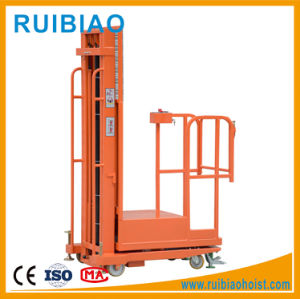 4meter Warehouse Semi Electric Aerial Order Picker pictures & photos