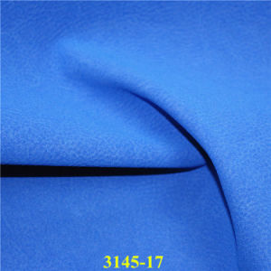 Fashion Shoe Material Leather Fabric with Matte Frosted Effect pictures & photos