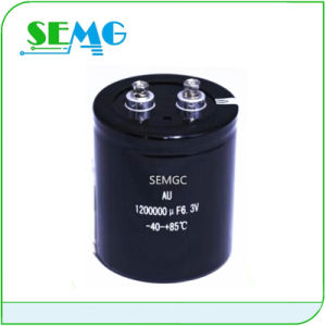 High Quality 4700UF 160V Aluminum Electrolytic Capacitor with Low ESR pictures & photos