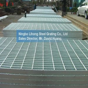 Galvanized Steel Grating Platform for Floor Walkway pictures & photos