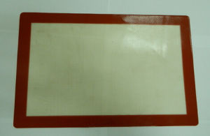 Anti-Slip Silicone Baking Mat for Non-Stick Silicone Fabric Baking Lier pictures & photos