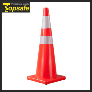 36inch (90cm) Injected Soft PVC Traffic Cone pictures & photos
