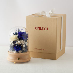 Hot Sell Music Box Flower Gift for Christmas pictures & photos