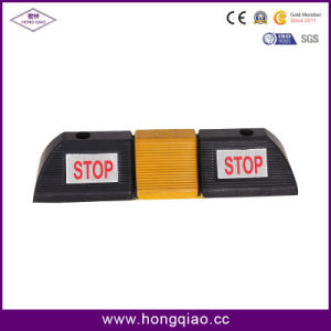 Rubber Car Wheel Stop (DWQ-007) pictures & photos