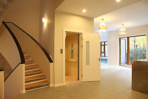 ISO9001 Home Elevator Villa Lift Without Machine Room pictures & photos