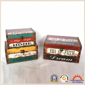 Antique Wood Furniture Multi Color Decorative Box for Storage and Gift Box for Presents pictures & photos