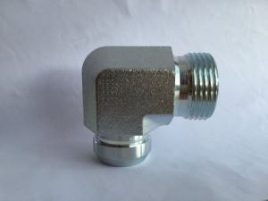 90 Degree Steel Elbow Hydraulic Fitting for Agricultural Machinery pictures & photos
