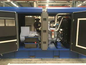 Kipor 100kVA Hotel Usage Silient Type Diesel Generator Kx120 pictures & photos
