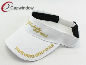 Sun Visor Cotton Cap with Embroidery pictures & photos