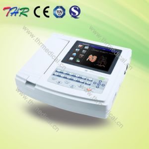 Thr-ECG-120g Hospital 12 Channel Portable ECG Machine pictures & photos