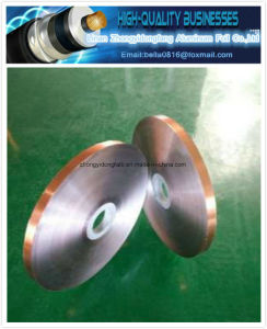 Different Color Aluminum Foil (Single Side) for Cable Shielding pictures & photos