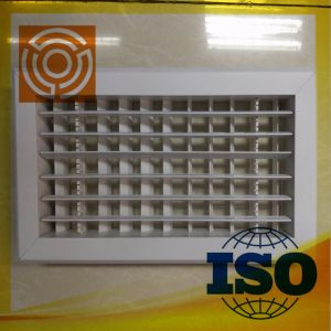 Air Conditioner Grilles with Double Layer Adjustable Blades pictures & photos