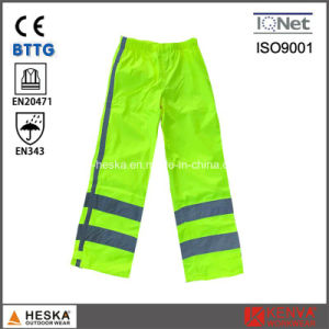 High Visibility Spring Safety Waterproof Safety Reflective Pants pictures & photos