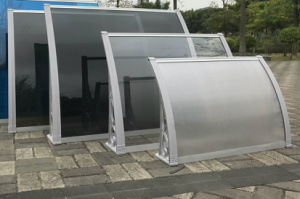 Canopy System Overdoor Decoration Solid Polycarbonate Awning Canopies pictures & photos