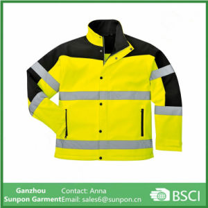 Police Outwear Softshell safety Jacket pictures & photos