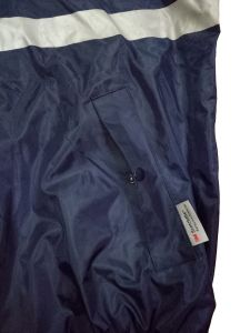 Men′s Blue Waterproof Windproof Outdoor Jacket Reflective Safety Jacket Protective Apparel pictures & photos