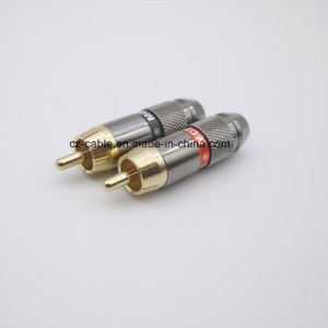 High Quality Metal RCA Plug pictures & photos