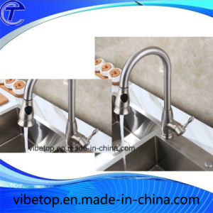 China Export High Quality Kitchen Stainless Steel Faucet/Mixer/Tap pictures & photos