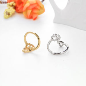 Adjustable Dog Paw Footprints Heart Metal Ring Fashion Ring Pet Jewelry Gift Anillos Melalico pictures & photos