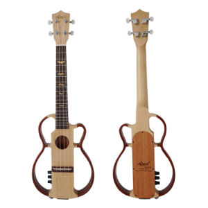 China Aiersi Mahogany Body Electric Bass Ukulele Fretless pictures & photos