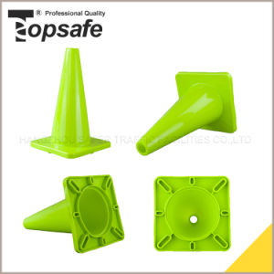 Small Soft Lime Green Color PVC Cone (S-1231) pictures & photos