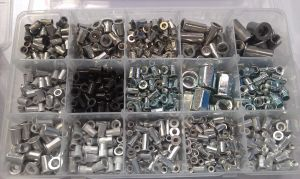 American System Flat Head Rivet Nut Carbon Steel/Aluminum/Stainless Steel pictures & photos
