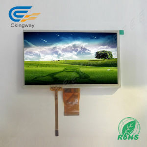 "7"" Lvds Interface TFT LCM 320 CD/M2 with Resistive Touch Screen pictures & photos"