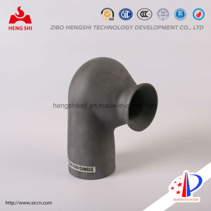 Silicon Nitride Bonded Silicon Carbide Nozzle Used for Desulfuration and Denitration in Environment Protection Industry pictures & photos