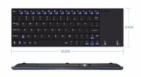 Spanish/German /English Minix Neo K2-S2.4G Comfortable Quiet Keys and Large Touchpad with Wireless Keyboard Air Mouse pictures & photos