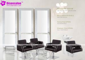 Popular High Quality Salon Furniture Mirror Barber Salon Chair (P2015E) pictures & photos