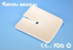 Foryou Medical Super Tracheostomy Dressing Ostomy Wound Care Necrotic Medical PU Foam Wound Dressing pictures & photos