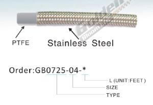 Ss304 Stainless Steel Braided Teflon Hose Hydraulic Hose