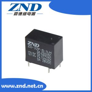 32f Power Relay Miniature Size Electromagnetic Relay 5A 4pins 0.2W pictures & photos