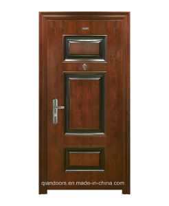 Entry Steel Security Single Door for Apartment Fdm006 pictures & photos